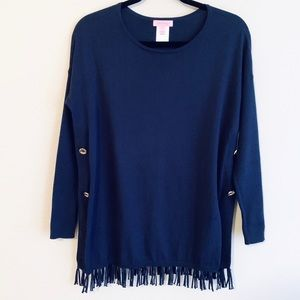 Lilly Pulitzer | Ramona Fringe Sweater